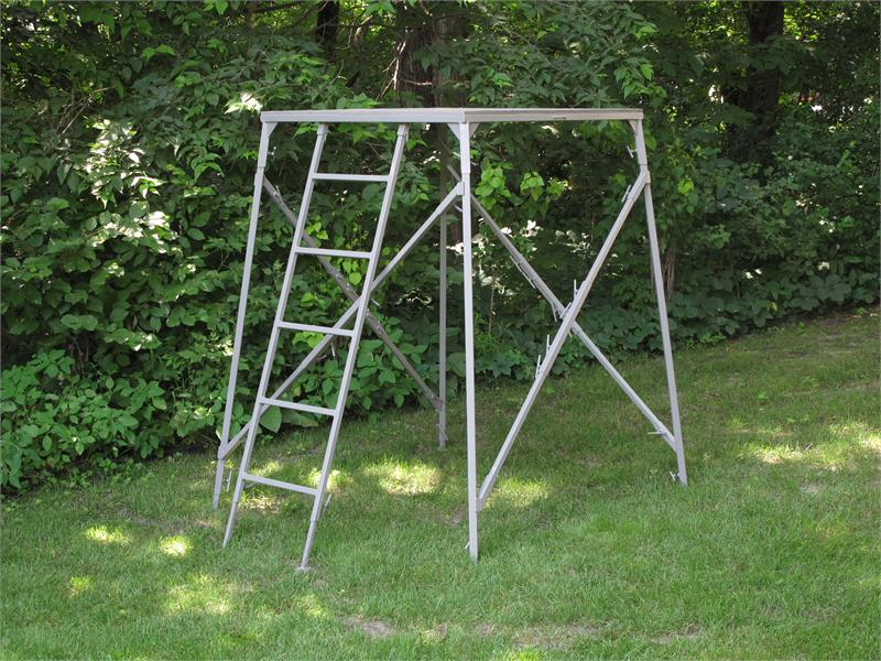comfortquest 4x4 elevated platform stand